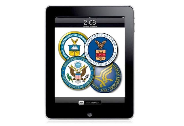 What lessons can businesses and app developers learn from the federal government?