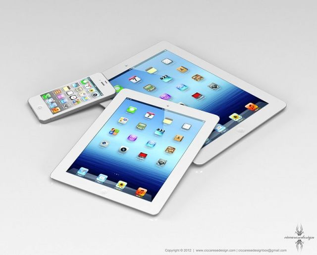 iphone 5 ipad mini concept