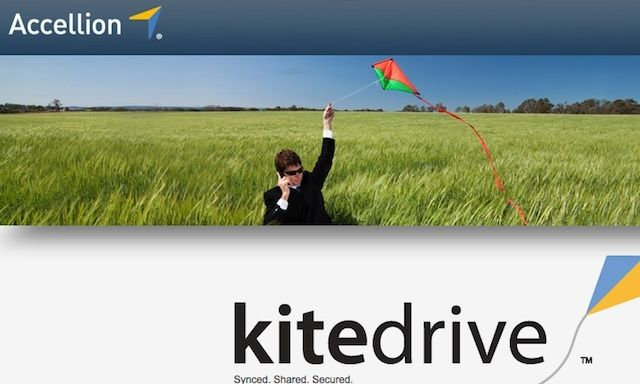 Secure enterprise file sharing and sync service kitedrive comes to the Mac.