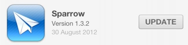 The Sparrow updates are still rolling in, despite its acquisition.