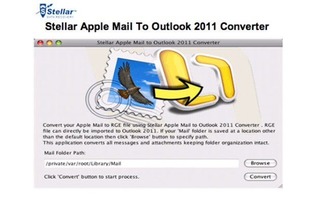 Stellar's new utility promises a quick and easy transition from Apple's Mail to Outlook for Mac.