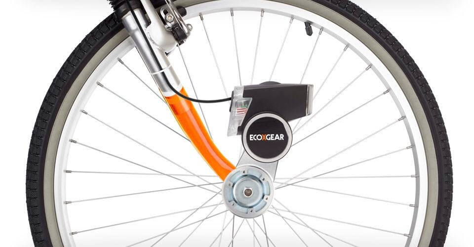 Ecoxpower Bike Hub Generator Charges Your Iphone As You