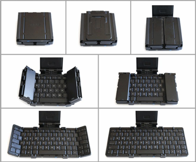 World S Smallest Folding Bluetooth Keyboard Kickstarter