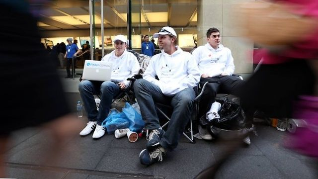 Aussie iPhone 5 Line