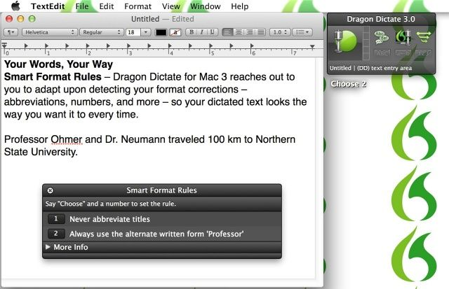 Dictate now supports Mountain Lion's new Notes and Reminders apps.