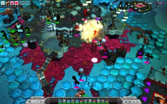 Exploding Infantry