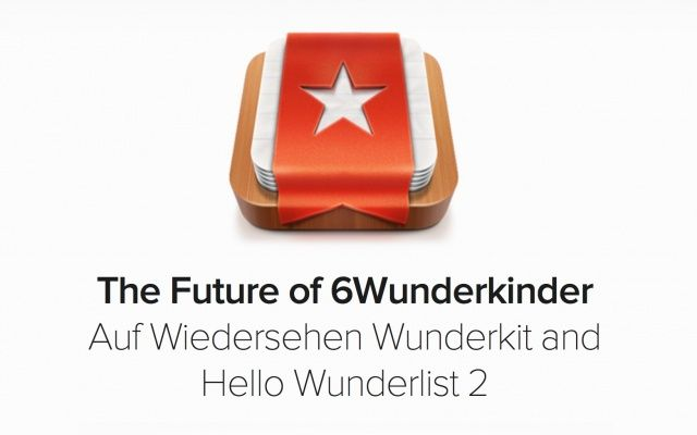 Say goodbye to Wunderkit and hello to Wunderlist 2.