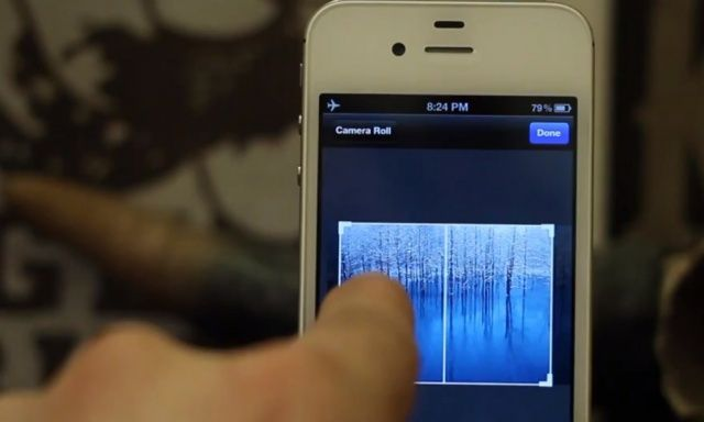 Breathe new life into your iPhone's home screen by adding a scrollable wallpaper.