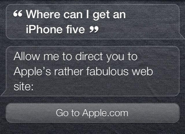 siri says get an iphone 5 on apple com cult of mac