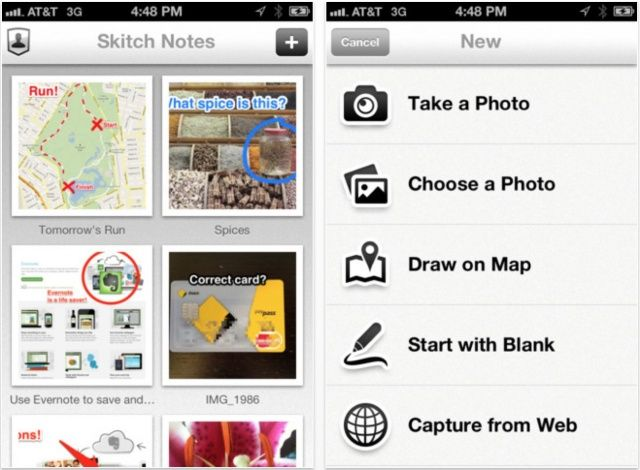 Skitch finally comes to your pocket!