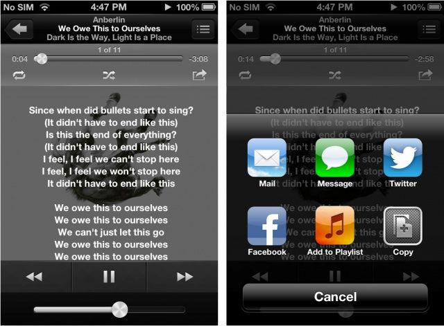 Get native music sharing in the Music app with Scale on your jailbroken iPhone.