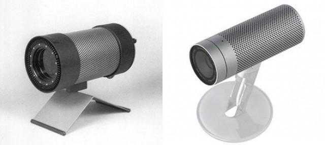 Braun infrared emitter vs. iSight camera.