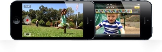 Shoot stills while capturing video on the iPhone 5.