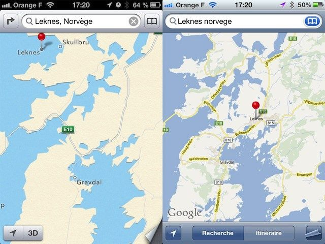 The ugly side of apples ios 6 maps app fully exposed gallery source the amazing ios 6 maps gumiabroncs Gallery
