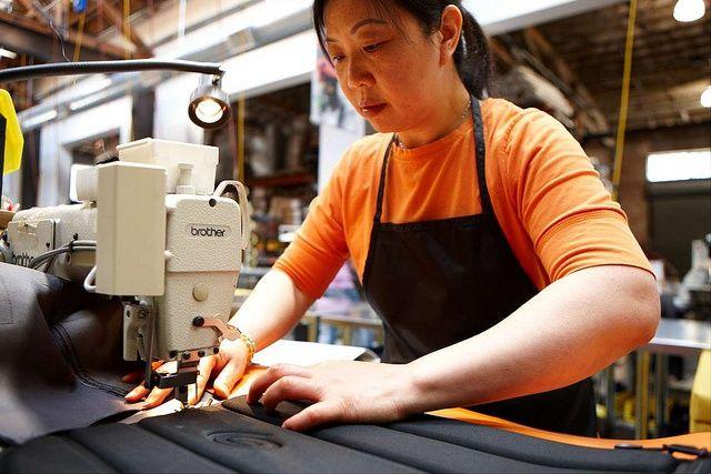 woman_sewing at timbuk2