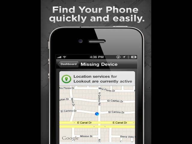 Lookout App Tracks Your Iphone Even When The Battery Is