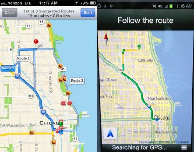 Going somewhere? Take Apple's Maps with you.