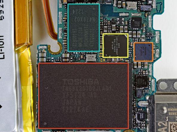 iPod nano chips