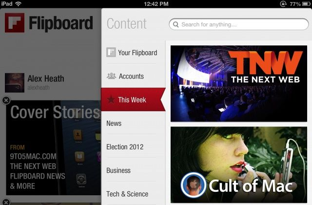 Cult of Mac just got an even better on Flipboard.