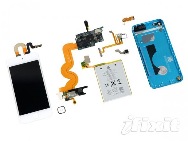 best service a2303 56821 5th Gen iPod Touch Teardown Reveals Massive Battery, Poor ...