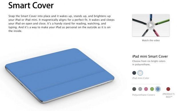 iPad Mini Smart Cover is $39