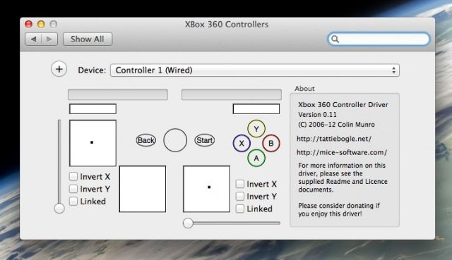 Use An Xbox 360 Controller On Your Mac [OS X Tips] | Cult of Mac