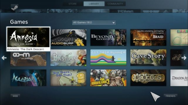 Steam Big Picture 2