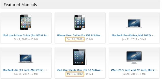 apple could be waiting to publish ipad users guide for ios 6 until rh cultofmac com MacBook Air 2008 MacBook Pro 2016