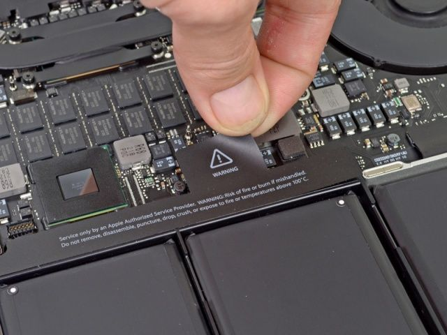 Tearing down the Retina MacBook Pro is like trying to dismantle an atomic bomb.
