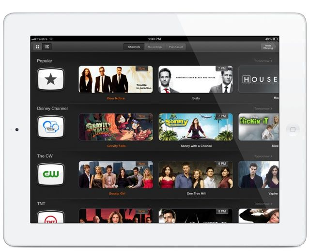 An itv ipad app would be the ultimate living room for The living room channel 10 catch up