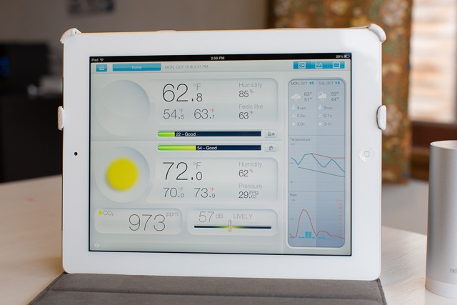 Netatmo weather station 5