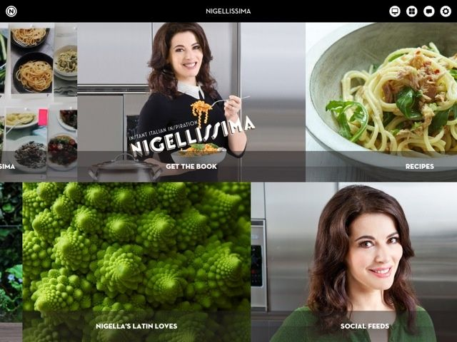 Turns out Nigella quite likes Italian food
