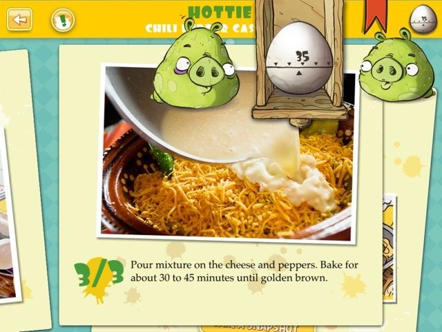 Angry birds fans complete the set with this bad pigs recipe book theres forumfinder Choice Image