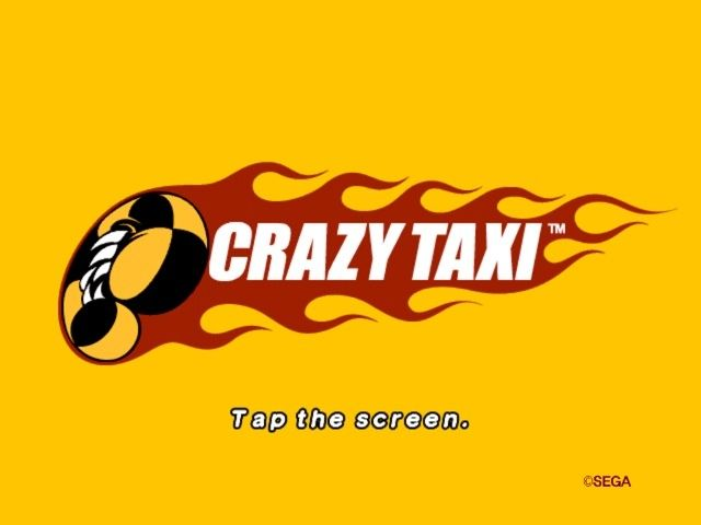 It's back! Crrrrrrazy Taxi!
