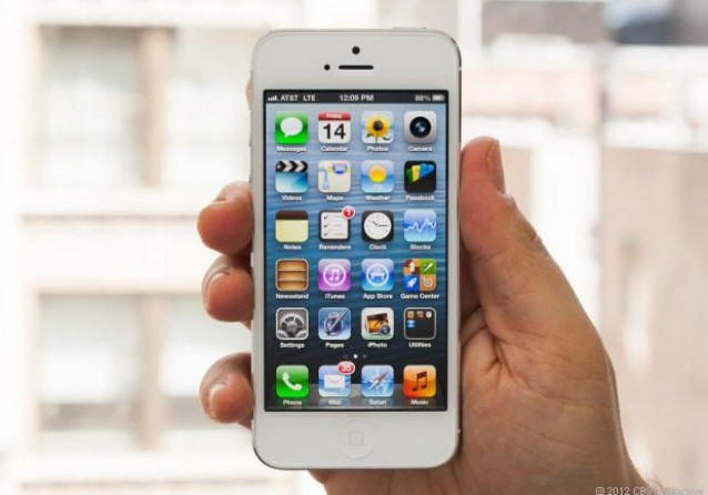 Scroll too fast on your iPhone 5 and it simply won't keep up.
