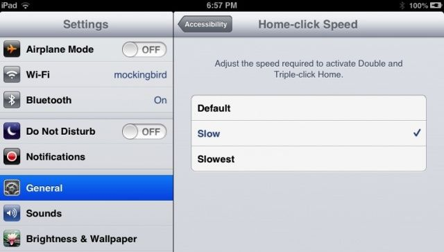 Home-click Speed
