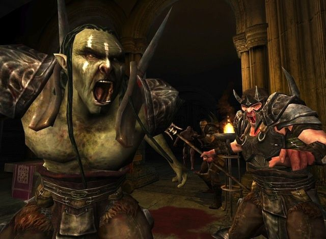This orc fellow would like to welcome all the new Mac players.