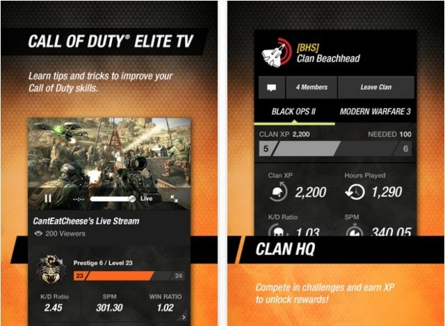 Getting Black Ops II today? Don't forget to update the companion app.