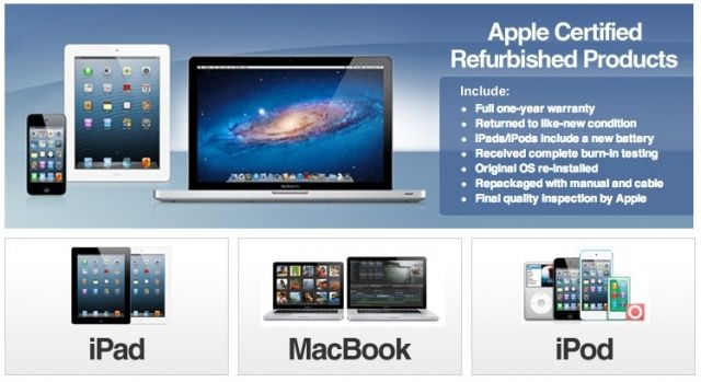 eBay - Apple Refurbished Products