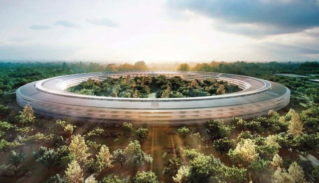 Apple's forthcoming Campus 2 is set to become Silicon Valley's most envy-inducing headquarters: the kind of futuristic home base that belongs in a James Bond movie.With work progressing nicely, en route to a 2016 opening, we thought the time was right to look at some of the (fictional) headquarters it will be competing against for title of best secret lair of all time.Scroll through our gallery to take a look at some of our other picks. You never know when Tim Cook will decide to incorporate an underground cave or shark tank into Apple's new home...