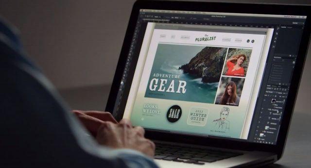 Photoshop CS6 seems to look good on the Retina MacBook Pro.