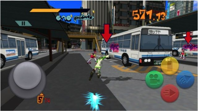 You no longer need a Dreamcast to play Jet Set Radio.