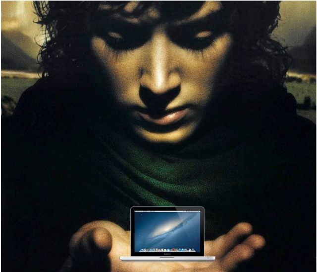 The smallest Mac in Mordor.