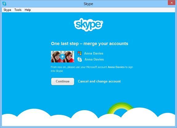 WLM to Skype