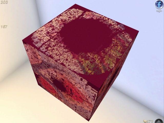 My God. It's full of cubes.