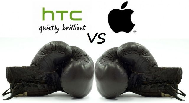Apple and HTC have finally put the boxing gloves down.