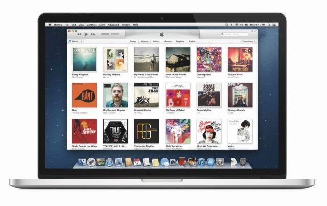 iTunes 11 MacBook