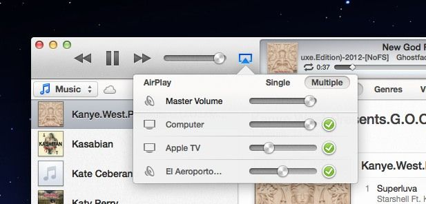 itunes11airplaymultiplecontrol