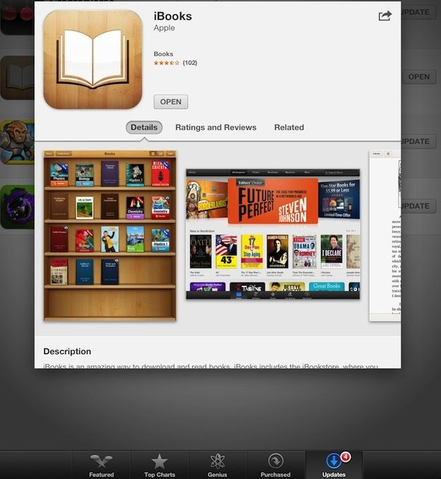 iBooks Bookmarks