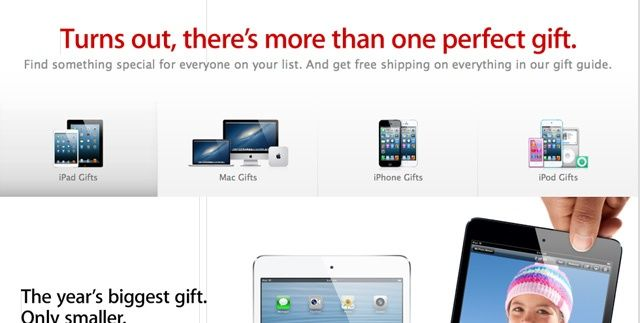 Apple's products may be broken into discrete families.
